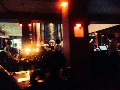 For dinner, Lost Heaven is a dimly lit restaurant with a trendy mood