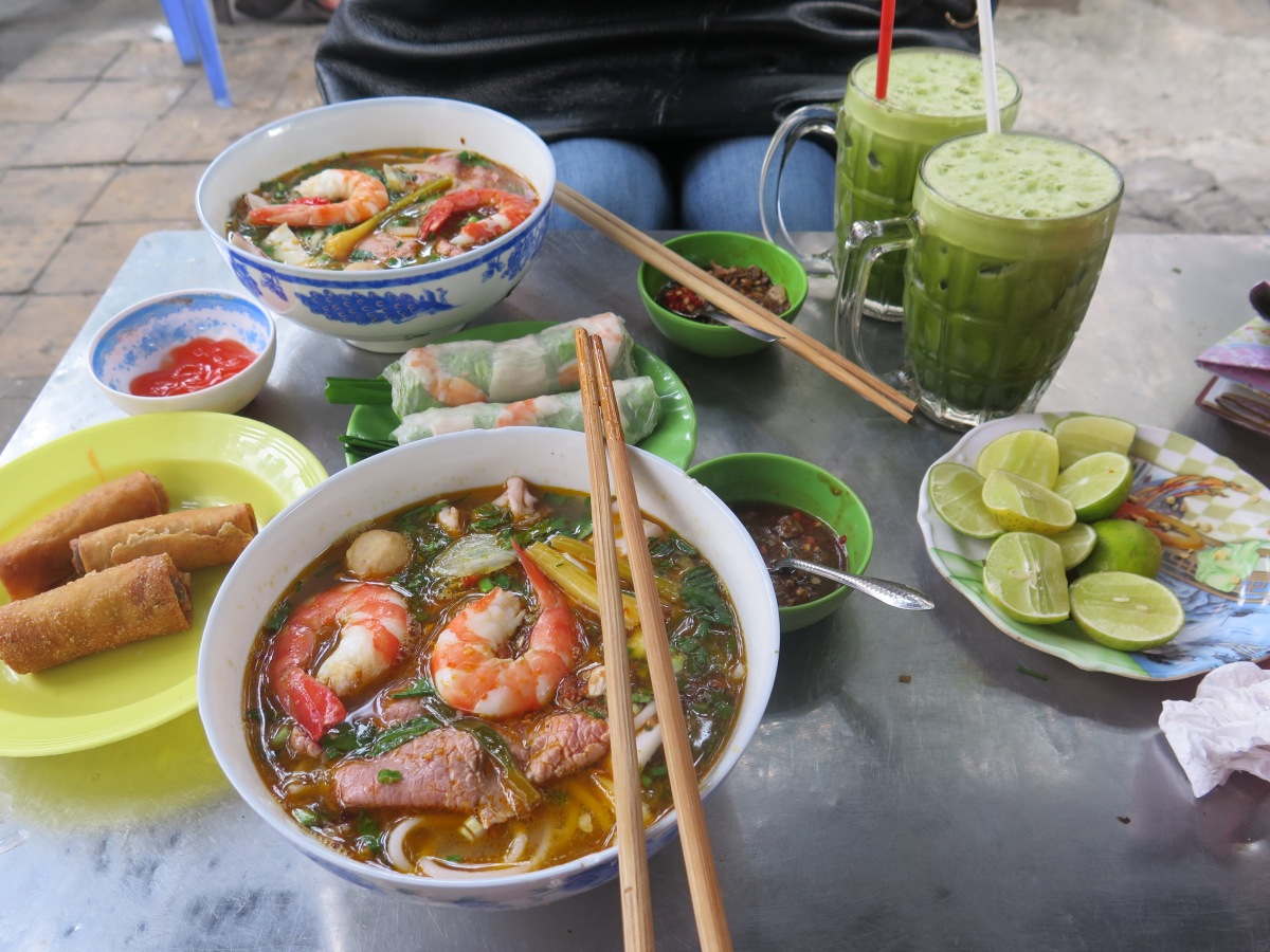 South Asia Trip Part I: Saigon Street Eats, the Lunch Lady, and more!