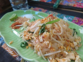 I actually MADE THIS PAD THAI--hard to believe right?!