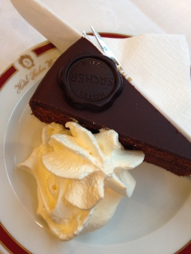 Sacher Torte anyone? Visiting the lovely Vienna in the summer is seriously a dream come true