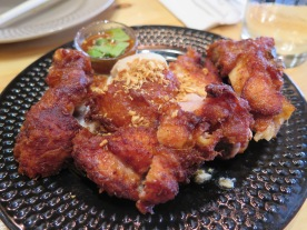 FRIED CHICKEN from Som Tum Der, a Thai restaurant I adore in NY (blog post coming soon!)
