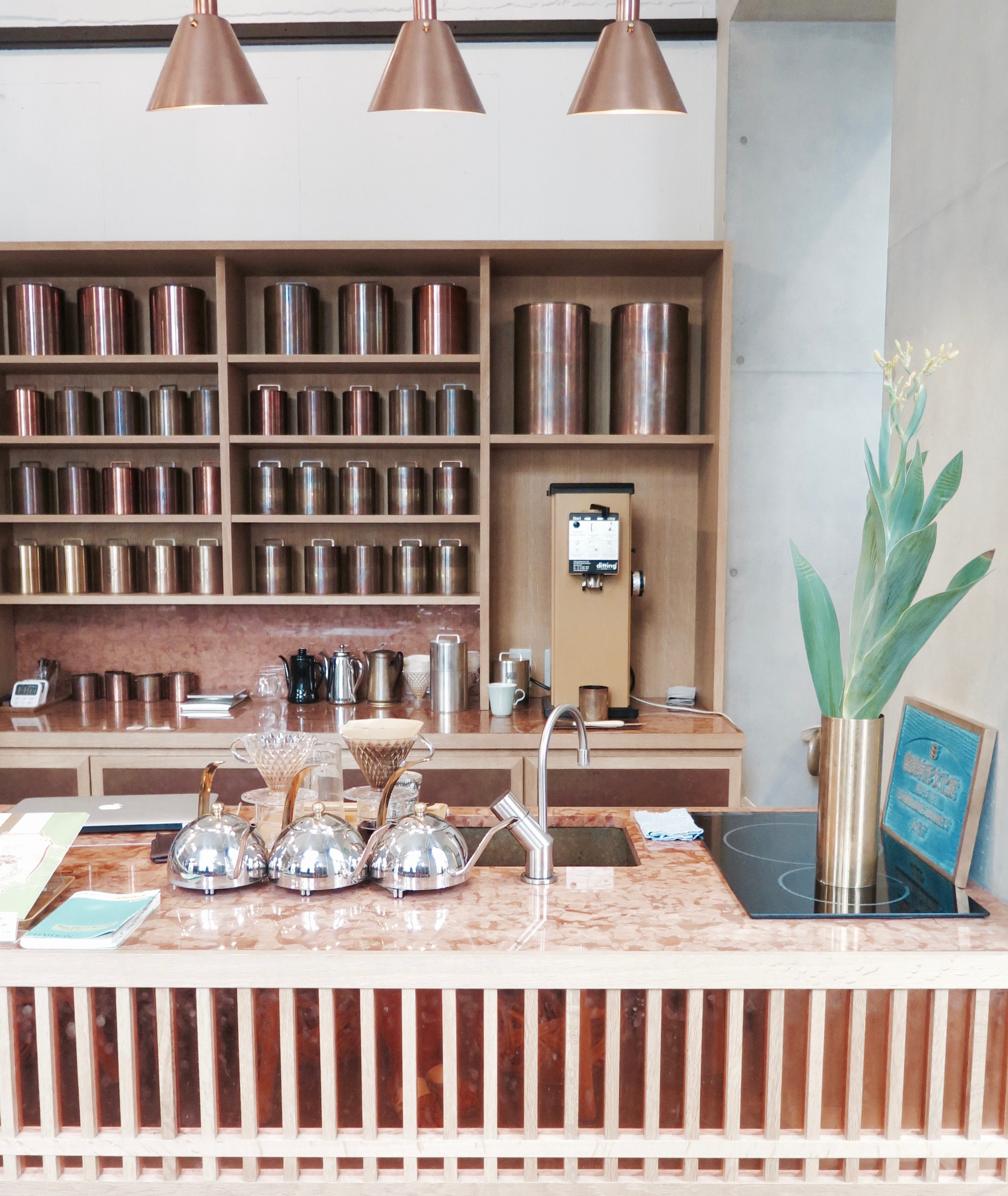 夏 in Kyoto: Hotel Anteroom and Cafe Hunting